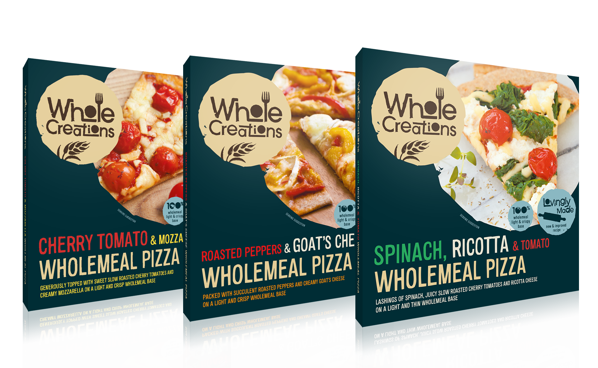 wholecreations pizza packaging